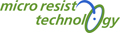 Logo micro resist technology